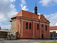 Chomutov, kostel sv. Ducha.JPG