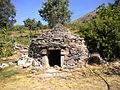 Chozo de Cabrero en el Torno, Valle del Jerte, Cáceres, Extremadura.JPG