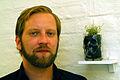 Christian Donner Schwitters Nachwuchs Glas Graberde Kurt Schwitters Unkraut Atelier ohne Titel Zinnober-Kunstvolkslauf 2012.jpg