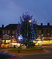 Christmas tree at Hampden Square - geograph.org.uk - 1606000.jpg