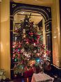 Christmas tree in Rules (8369854801).jpg