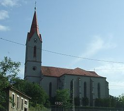 Church in Ardud, Romania.jpg