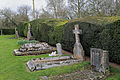 Church of St Mary, Tilty Essex England - churchyard.jpg