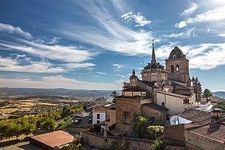 Jerez de los Caballeros Town in Extremadura, Spain