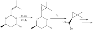 Simmons–Smith reaction - Simmons-Smith cyclopropanation in cilastatin synthesis
