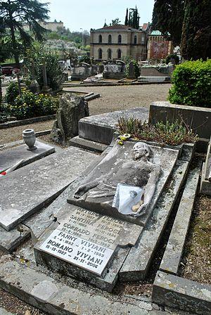 Silpa Bhirasri - Cimitero degli Allori, Corrado Feroci