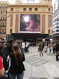 Cine Callao, pre-estreno de la película EL COSMONAUTA, Madrid, 14 de mayo de 2013.JPG