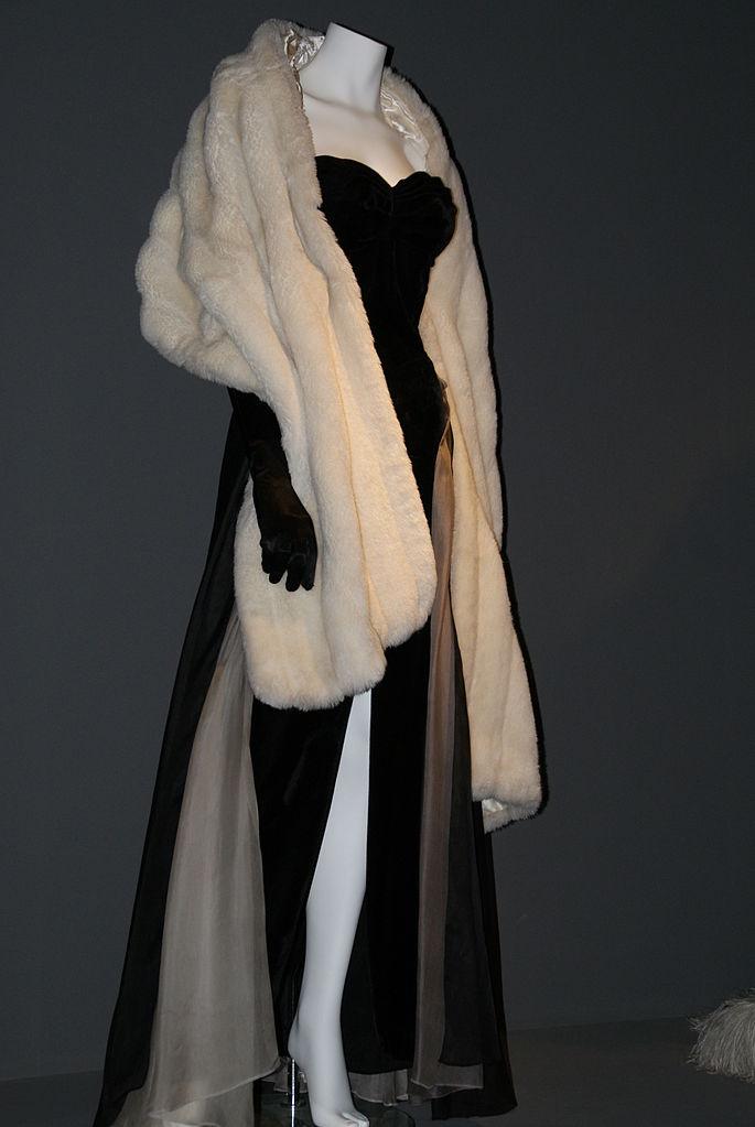 Costume d'Anita Ekberg dans le film