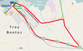 Circuito de la primera etapa del Giro por la Hermandad 2014.png