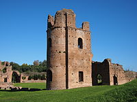 Part of the Circus of Maxentius