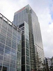 Citigroup EMEA headquarters, Canary Wharf, London