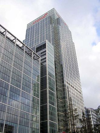 Citigroup - Citigroup EMEA headquarters at the Citigroup Centre, London, Canary Wharf, London