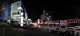 Mangalore Dasara - K.S. Rao Road during Dasara