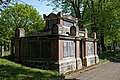 City of London Cemetery Anchor Road north side second Pedley family vault 2.jpg