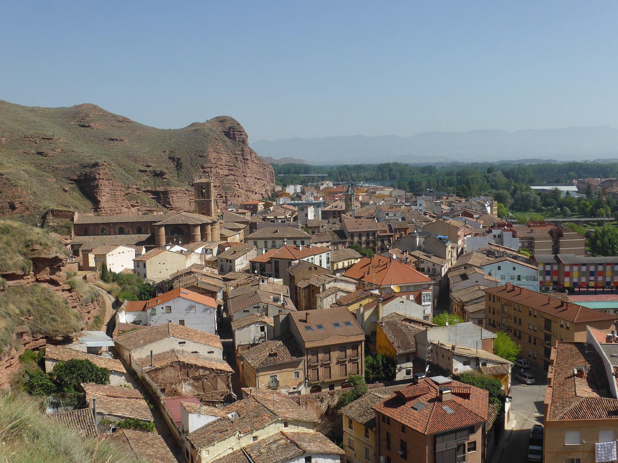 Ciudad de Nájera, en La Rioja, España