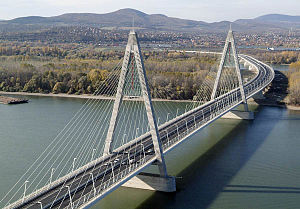 Bridges of Budapest - Megyeri Bridge