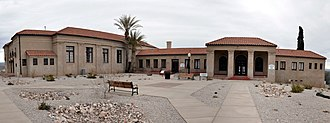 Clarkdale, Arizona - Image: Clark Memorial Clubhouse pano