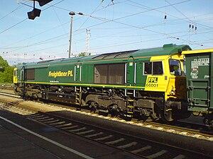 EMD Class 66 - Image: Class 66 FPL66001
