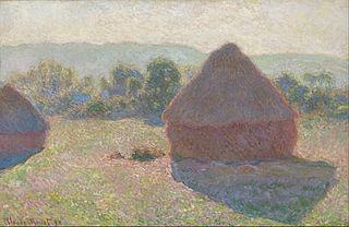 Haystacks, midday