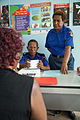Client at the Family and Sexual Violence Unit at Waigani Police Station, Port Moresby. (10687014433).jpg