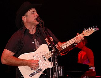 Clint Black - Black performing at a benefit concert
