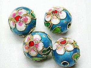 Bead - Cloisonné beads