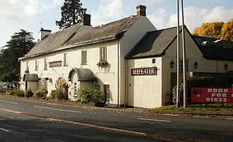 Castleton, Newport - Coach and Horses pub/restaurant