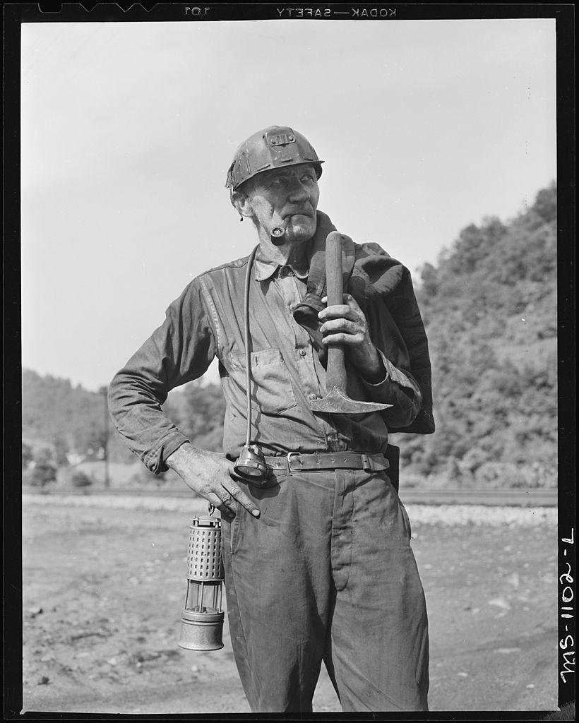 File Coal Miner Mullens Smokeless Coal Company Mullens