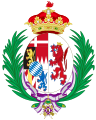 Coat of Arms of Maria Luisa de Silva, Duchess of Talavera as Spanish Infanta.svg