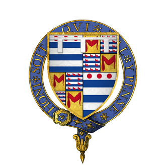 John Grey (knight) - Arms of Sir John Grey, KG