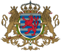 Coat of arms Grand Duchy of Luxembourg middle.png