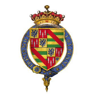 Henry Percy, 4th Earl of Northumberland - Quartered arms of Sir Henry Percy, 4th Earl of Northumberland, KG