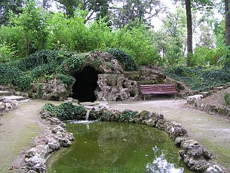 Édouard André - A typical grotto in Cognac