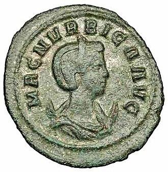Magnia Urbica - Antoninianus of Magnia Urbica.
