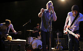Cold War Kids in New York City in 2007.