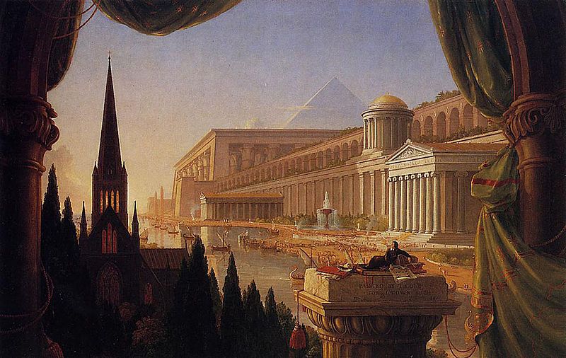 Archivo:Cole Thomas The Architect-s Dream 1840.jpg