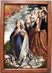 The Virgin Mediator with Jeanne la Folle