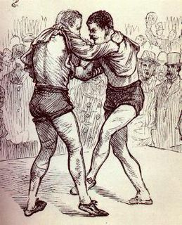 Collar-and-elbow Style of folk wrestling native to Ireland