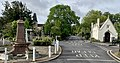 College of God's Gift, Dr Webster's Fountain and Old Grammar School, Dulwich.jpg