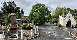 Dulwich Human settlement in England