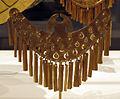 Colombia, yotoco (calima), ornamento per naso, I-VII sec., oro sbalzato.JPG