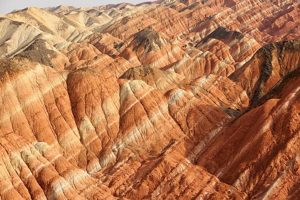 Colorful strata (Zhangye National Geopark)
