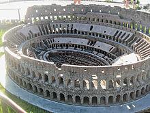 Miniatura del Colosseo