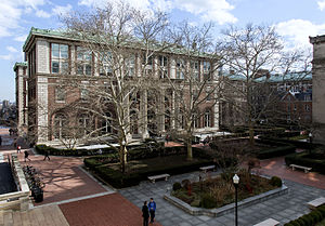 Columbia Graduate School of Architecture, Planning and Preservation - Avery Hall, Columbia University.