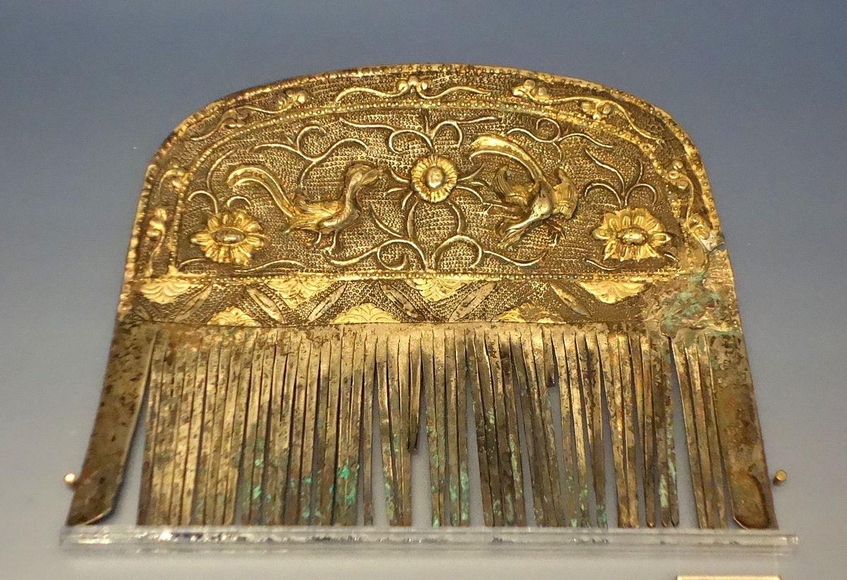 File Comb  China  Tang Dynasty  618