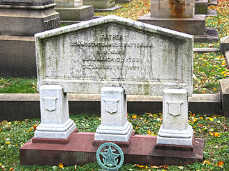 Daniel Patterson (naval officer) - Grave at Congressional Cemetery