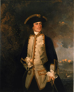 Commodore the Honourable Augustus Keppel by Sir Joshua Reynolds 1749
