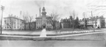 Composite photograph of Victoria Hospital circa 1905, showing the Nurses' Home on the right. (From the University of Western Ontario Archives) .png