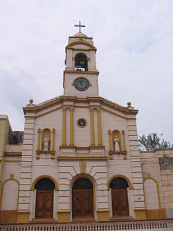 Concepción's main Catholic church