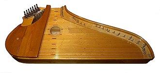 Kantele - Koistinen 38-stringed concert kantele